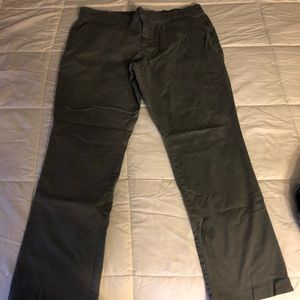Gap gray chino pants 16. EUC